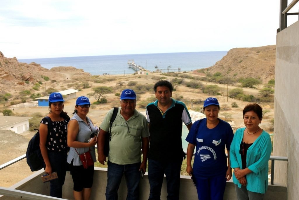 Visita de representantes pesqueros Huarmey